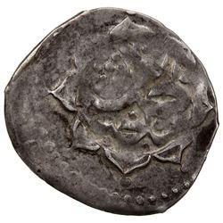 SHIRVAN: Mustafa Khan, 1794-1820, AR abbasi (2.26g), Shamakhi, AH1228. VF