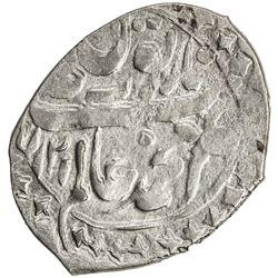 KHOQAND: Muhammad 'Alim Khan, 1799-1810, AR dirham (3.96g), AH1216 (retrograde). VF