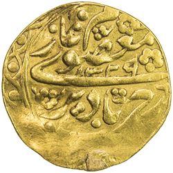 MANGHIT OF BUKHARA: 'Alim Khan, 1910-1920, AV tilla (4.39g), Bukhara, AH1329//1329. VF