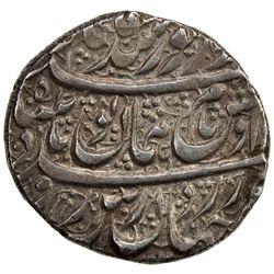 DURRANI: Humayun Shah, 1793, AR rupee (11.63g), Ahmadshahi (= Qandahar), AH1207. AU