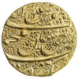 DURRANI: Mahmud Shah, 1st reign, 1801-1803, AV mohur (11.03g), Kabul, AH(121)6 year one (ahad). UNC