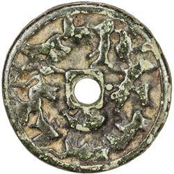 LIAO: AE charm/amulet (20.00g), ca. 11th/12th century. VF