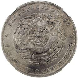 SZECHUAN: Kuang Hsu, 1875-1908, AR dollar, ND (1901-08). NGC VF
