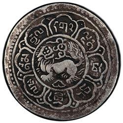 TIBET: AR srang, BE15-43 (1909). PCGS VF