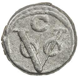 CEYLON (DUTCH): lead 1 duit (4.84g), Colombo, 1789-C. F-VF