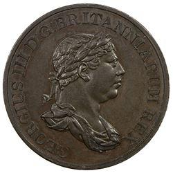 CEYLON: George III, 1760-1820, AE stiver, 1815. PF