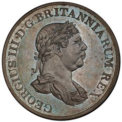 CEYLON: George III, 1796-1820, AE stiver, 1815. PCGS MS63