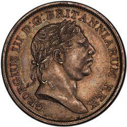 CEYLON: George III, 1796-1820, AR rixdollar, 1815. PCGS PF63