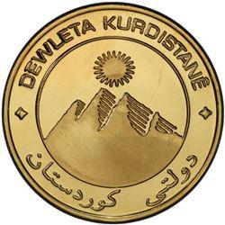 KURDISTAN: AV 1,000 dinars, 2003/AH1424. PCGS PF68
