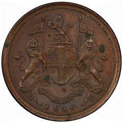 PENANG: AE cent, 1810. PCGS UNC