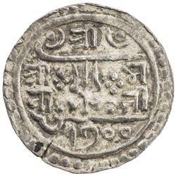 NEPAL: Pratap Simha, 1775-1777, AR 1/4 mohar (1.38g), SE1700. EF