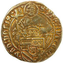 BRABANT: Philippe I, le Beau, 1494-1506, AV florin (philippusgulden) (3.10g), ND [1500-6]. VF