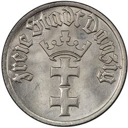 DANZIG: Free City, 1/2 gulden, 1932
