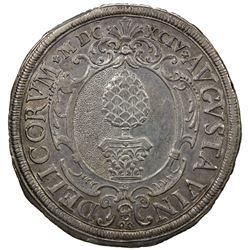 AUGSBURG: Free City, 1276-1805, AR thaler (28.83g), 1694. EF