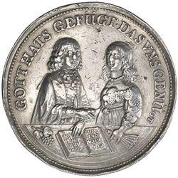 BREMEN: Free Imperial City, AR medal (23.93g), 1646. VF