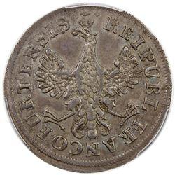 FRANKFURT: Free Imperial City, AR medal. PCGS MS63