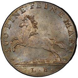 HANOVER: George III, 1760-1820, BI 3 mariengroschen, 1819. PCGS MS65
