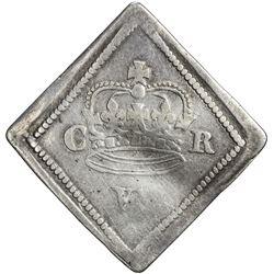 ENGLAND: Charles I, 1625-1649, AR sixpence, 1646. VG-F