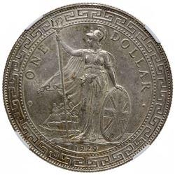 GREAT BRITAIN: AR trade dollar, 1929-B. NGC MS63