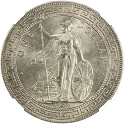 GREAT BRITAIN: AR trade dollar, 1930. NGC MS65