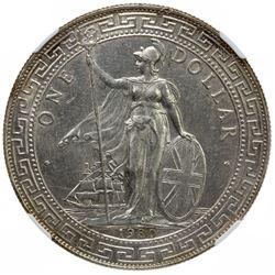 GREAT BRITAIN: AR trade dollar, 1930-B. NGC MS61