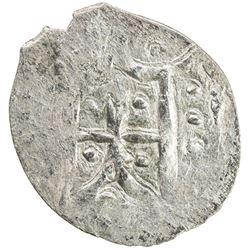 LITHUANIA: Vladimir Olgierdovich, ca. 1330-1398, AE 1/2 groschen (0.34g), Kiev, ND. VF-EF