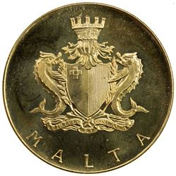 MALTA: Republic, AV 50 maltese pounds, 1972. BU