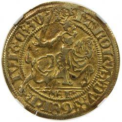 GELDERLAND: Karel van Egmond, 1492-1538, AV florin, ND. NGC EF40
