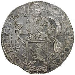 UTRECHT: Dutch Republic, AR leeuwendaalder (27.30g), 1647. UNC