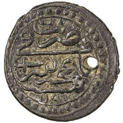 CRIMEA: Shahin Giray, 1777-1783, AE polushka (1.54g), Baghcha-Saray, AH1191. VF