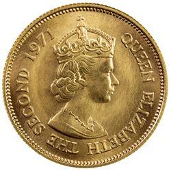 MAURITIUS: Elizabeth II, 1952-1987, AV 200 rupees, 1971. BU