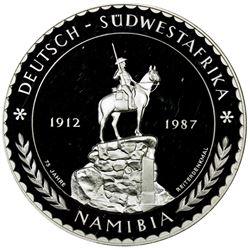 NAMIBIA: AR 5 unzen, 1987. PF