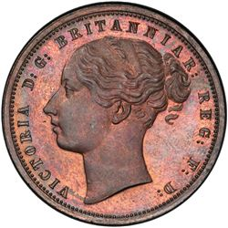 GRIQUATOWN: Victoria, 1873-1880, AE penny, ND (1890). PCGS SP64