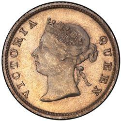 BRITISH GUIANA: Victoria, 1837-1901, AR 4 pence, 1891. PCGS MS66