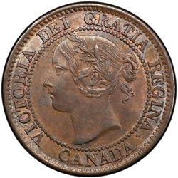 CANADA: Victoria, 1837-1901, AE cent, 1859. PCGS MS62