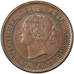 CANADA: Victoria, 1837-1901, AE cent, 1859. PCGS EF45