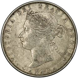 CANADA: Victoria, 1837-1901, AR 50 cents, 1871. PCGS EF40