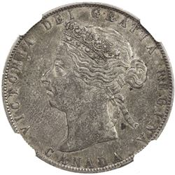 CANADA: Victoria, 1837-1901, AR 50 cents, 1892. NGC EF45