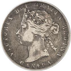 CANADA: Victoria, 1837-1901, AR 50 cents, 1892. PCGS VF25