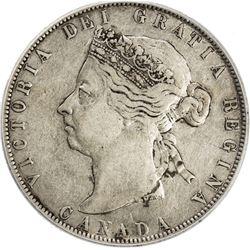 CANADA: Victoria, 1837-1901, AR 50 cents, 1898. PCGS VF35