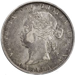 CANADA: Victoria, 1837-1901, AR 50 cents, 1900. PCGS F15