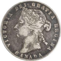 CANADA: Victoria, 1837-1901, AR 50 cents, 1901. PCGS VF30