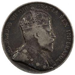 CANADA: Edward VII, 1901-1910, AR 50 cents, 1905. F
