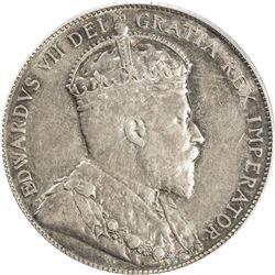 CANADA: Edward VII, 1901-1910, AR 50 cents, 1906. PCGS EF45