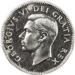 CANADA: George VI, 1936-1952, 5 cents, 1950. PCGS SP64