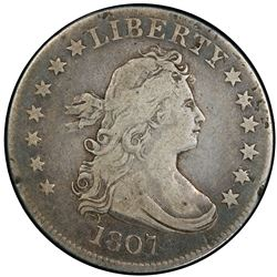 UNITED STATES: AR 25 cents, 1807