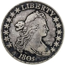 UNITED STATES: AR Draped Bust 50 cents, 1805