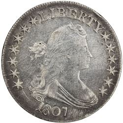 UNITED STATES: AR 50 cents, 1807