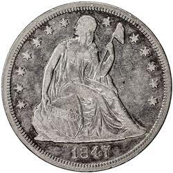 UNITED STATES: AR dollar, 1847
