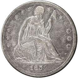 UNITED STATES:AR dollar, 1859-O